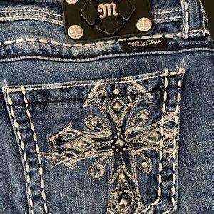 Miss Me Embellished Bootcut Jeans JP5045-5 size 30
